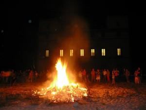 Noche de San Juan en el Palacio de la Mosquera