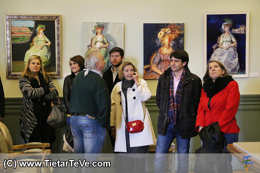 Exposición sobre la Condesa de Chinchón en el Palacio de la Mosquera de Arenas de San Pedro