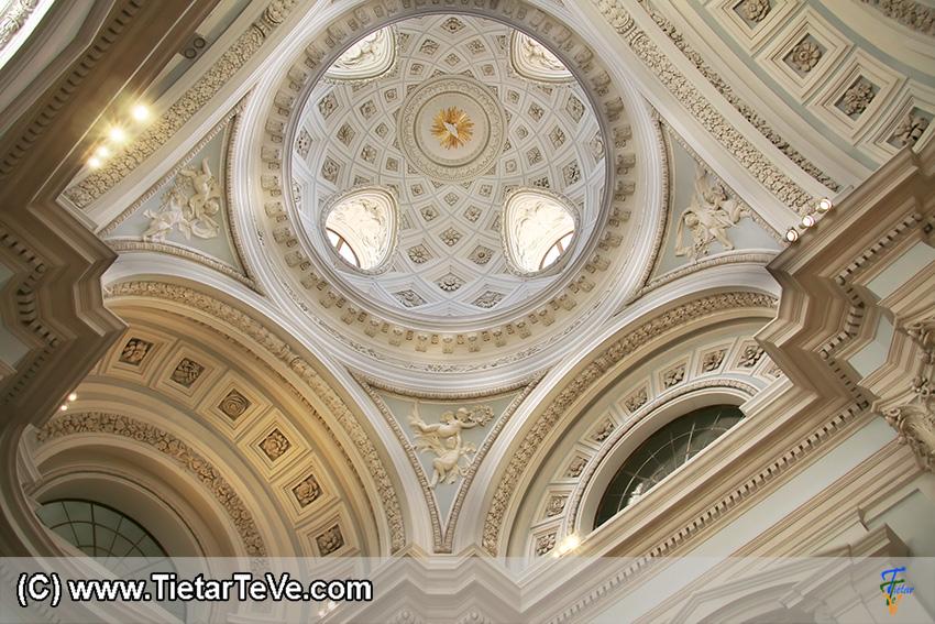 Cúpula de la Capilla del Palacio de Boadilla del Monte