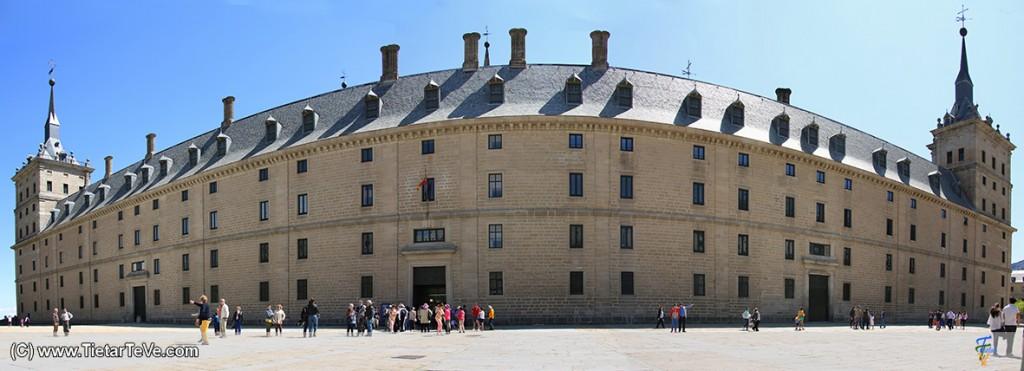 Exterior del Monasterio de El Escorial