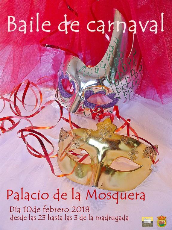 Baile de Carnaval 2018 Palacio de la Mosquera - Arenas de San Pedro