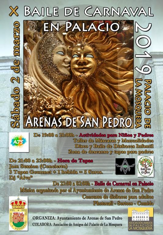 X Baile de Carnaval en Palacio 2019 - Arenas de San Pedro - Amigos del Palacio de La Mosquera