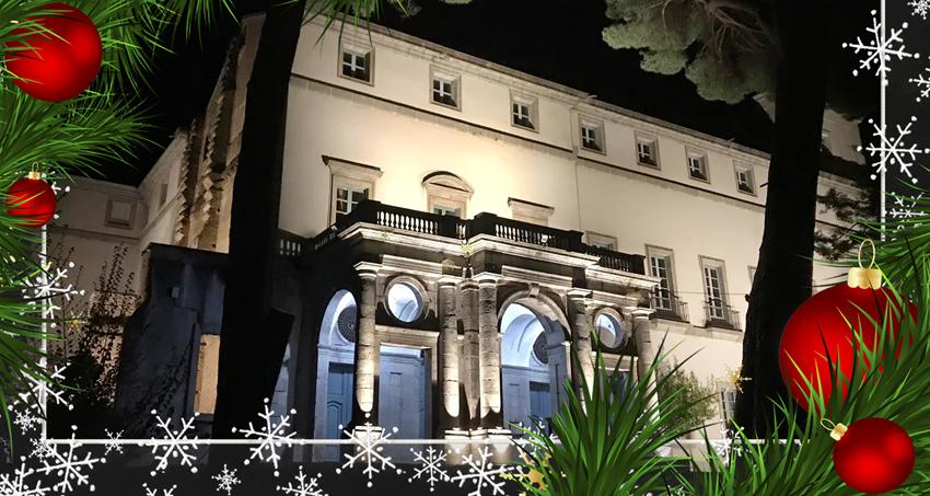 Felicitación Navidad 2019 - Amigos del Palacio de La Mosquera - Arenas de San Pedro