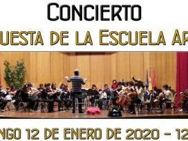 Concierto de la Escuela Arcos - Asociación de Amigos del Palacio de La Mosquera - Arenas de San Pedro
